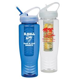 Sports Bottle With Fruit Infuser