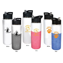 Color-changing Stainless Steel Mood Bottle