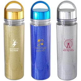 Glitter and Glam Water Bottle