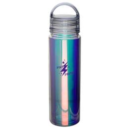 Iridescent Rainbow Bottle With Arched Lid
