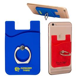 Phone Pocket with Metal Ring