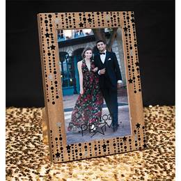 "Star Strings ""Prom"" Wood Frame"