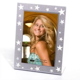 Silver Starlit Sparkle Frame