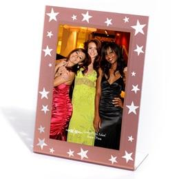 Rose Gold Starlit Sparkle Frame