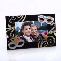 Silver Masques Acrylic L-Frame