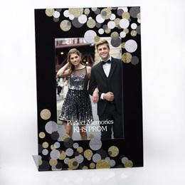 Glitter Bubbles Acrylic L-Frame
