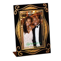 Mirror Image Photo Frame