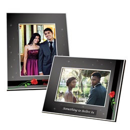 Full-color Frame - Midnight and Roses