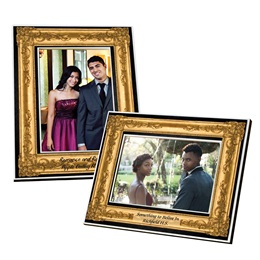 Full-color Frame - Gold Frame