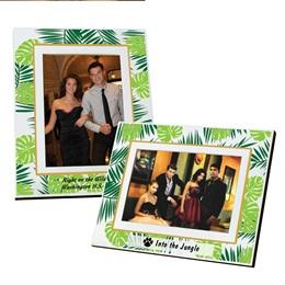 Full-color Frame - Tropical Palms