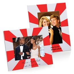 Full-color Budget Frame - Red Starburst