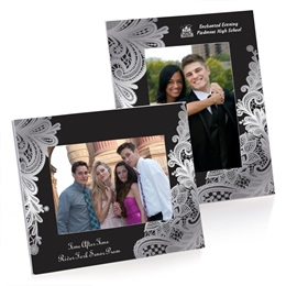 Full-color Budget Frame - Delicate Lace