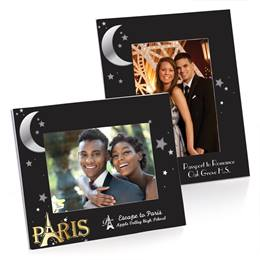 Full-color Budget Frame - Moon Over Paris