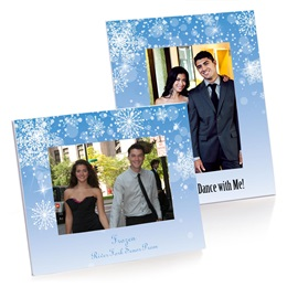 Full-color Budget Frame - Snowflakes