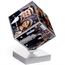 Mystic Rotating Cube Frame