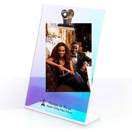 Iridescent Clipboard Frame