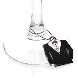 Tiny Tuxedo Charm
