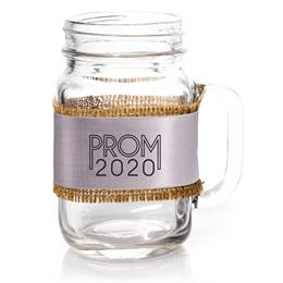 Mason Jar With Prom 2020 Wrap