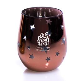 Rose Gold Starlight Bowl Tumbler