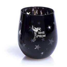 Ebony Starlight Bowl Tumbler