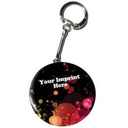 Full-color Button Key Chain - Funtastic