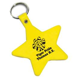 Bendy Star Key Tag