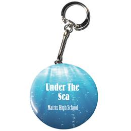 Full-color Button Key Chain - Rolling in the Deep