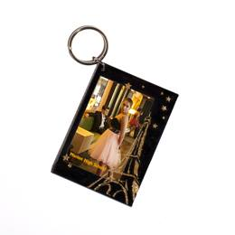 Golden Tower Photo Key Chain