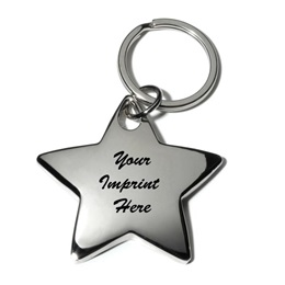 Jumbo Star Key Tag