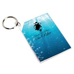 Full-color Rectangle Key Chain - Rolling in the Deep