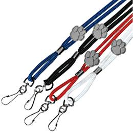 Lanyard Cord with Paw Clip