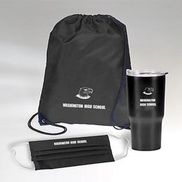 Custom Backpack, Tumbler, and Mask Set