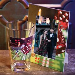 Full-color Frame and Tumbler Set - Lady Luck