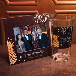 Full-color Frame and Tumbler Set - Pineapple Prom