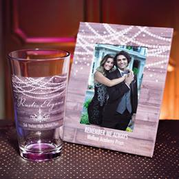 Full-color Frame and Tumbler Set - Rustic Glam
