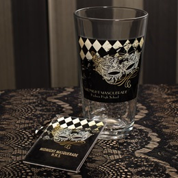 Full-color Tumbler and Key Chain Set - Gilded Masquerade