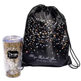 Starscape Bag/Glitter Tumbler Favor Set