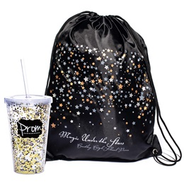 Starscape Bag/Glitter Cup Favor Set