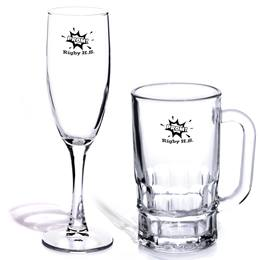 Privileged Flute and Tamblyn Mug Favor Set