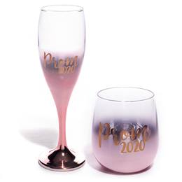 Ombre Rising Prom 2020 Flute and Bowl Tumbler Set