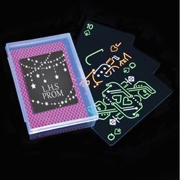 Glow in the Dark Playing Cards in Case