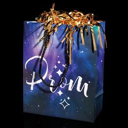 Purple Galaxy Prom Gift Bag