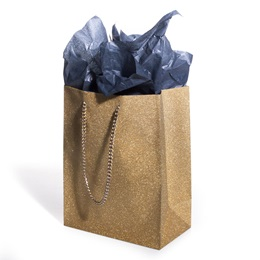 Gold Diamond Favor Bag