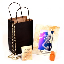 Customized Gold Stardust Swag Bag