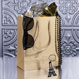 Parisian Chic Swag Bag