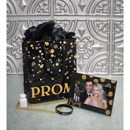 Metallic Bubbles Prom Swag Bag