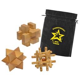 3-D Puzzle Set