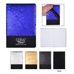 Flip Sequin Notebook