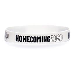 Homecoming 2020 Wristband - White