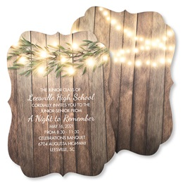 Lighted Tree Branch Invitation